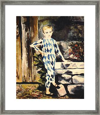 Lily Pierrot Framed Print by John Keaton