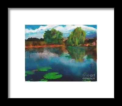 Ebsq Digital Framed Prints