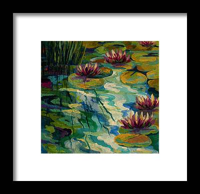 Pond Framed Prints