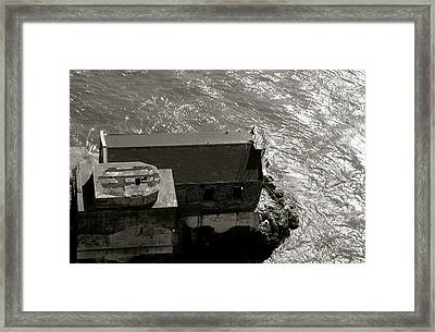 Lime Point Lighthouse Framed Print by Sonja Anderson
