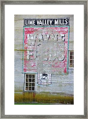 Lime Valley Mills Framed Print by David Arment