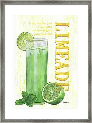 Limeade Framed Print by Debbie DeWitt