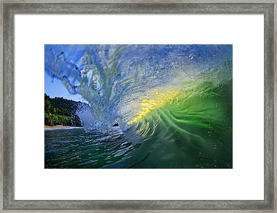 Limelight Framed Print