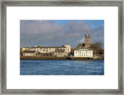 Limerick City Hall Framed Print by Andrew  Michael