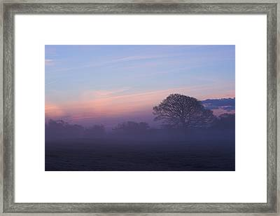 Limerick Foggy Sunrise Ireland Framed Print