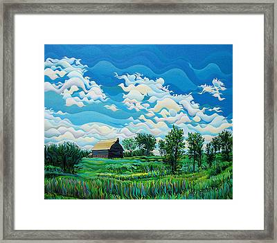 Limitless Afternoon Dreams Framed Print