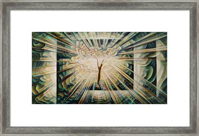 Limitless Framed Print by Nad Wolinska