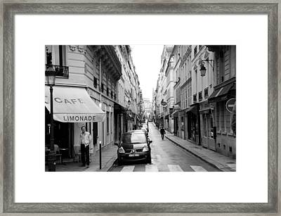 Limonade Framed Print by Lee Stickels