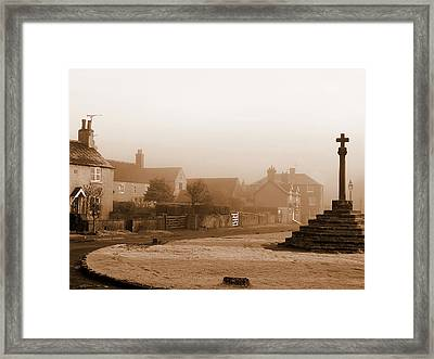 Linby Village Framed Print by Graham Taylor