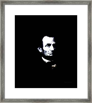 Lincoln Always With Us Framed Print