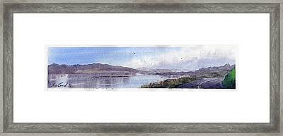 Lincoln City, Or Framed Print by Max Good