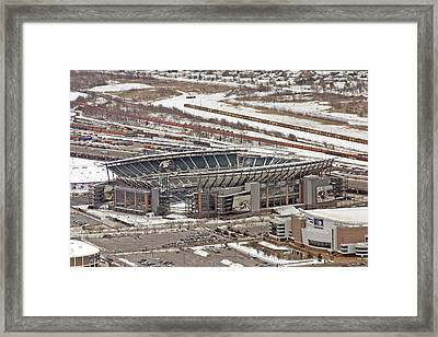 Lincoln Financial Center Philadelphia Framed Print by Duncan Pearson
