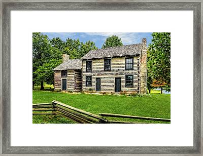 Lincoln Heritage House Elizabethtown Kentucky Framed Print