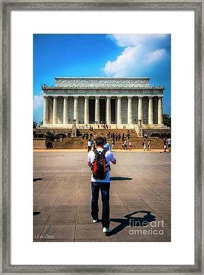 Lincoln Memorial #2 Framed Print