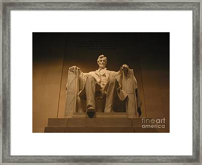 Lincoln Memorial Framed Print by Brian McDunn