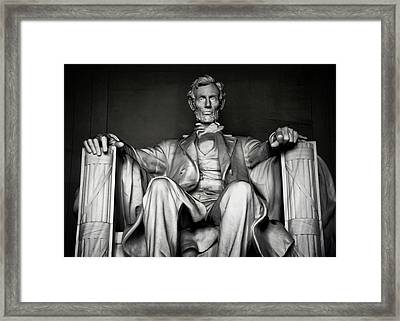 Lincoln Memorial Framed Print by Daniel Hagerman