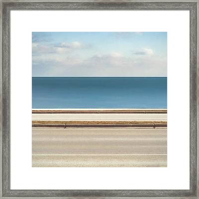 Lincoln Memorial Drive Framed Print by Scott Norris