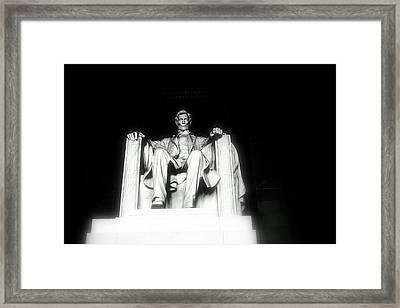 Lincoln Memorial  Framed Print by Kristina Randal
