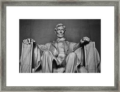 Lincoln Memorial Framed Print by Kyle Hanson