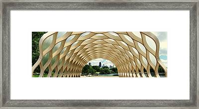 Lincoln Park Zoo Nature Boardwalk Panorama Framed Print