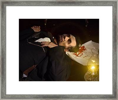 Lincoln Shot 2 Framed Print by Ray Downing