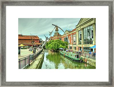Lincoln Waterside  Framed Print
