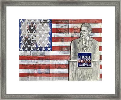 Lincoln Framed Print by Yvonne Dagger