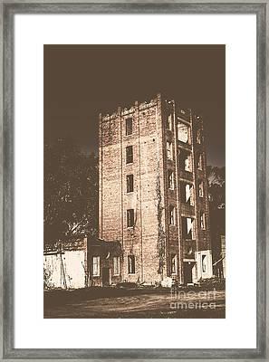 Lincolns Oakbank Brewery Framed Print