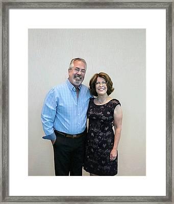 Linda Carroll Barkdoll Framed Print