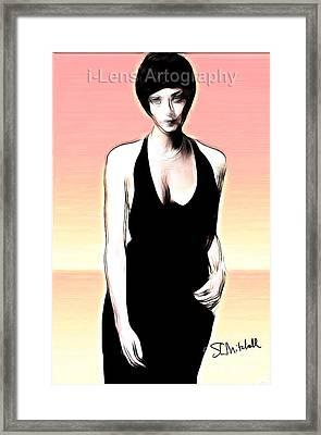 Linda Thorson Framed Print