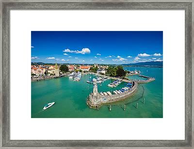 Lindau Bodensee Lake Constance Germany Framed Print
