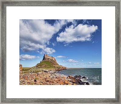 Lindisfarne Castle, Northumberland Framed Print by Colin and Linda McKie