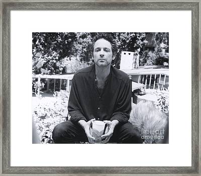 Lindsey Buckingham - 1994 Framed Print by The Titanic Project