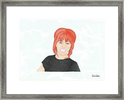 Lindsey Stirling Framed Print