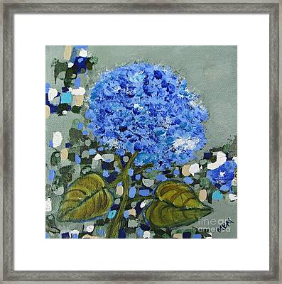 Lindsey's Flower Framed Print
