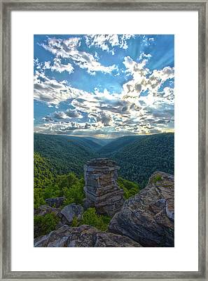 Lindy Overlook Framed Print