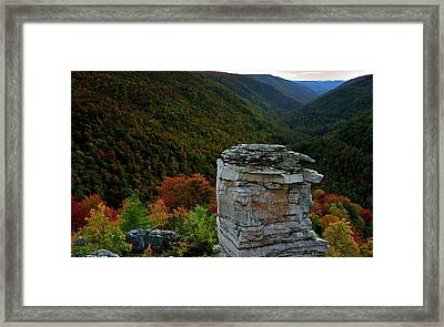 Lindy Point Framed Print
