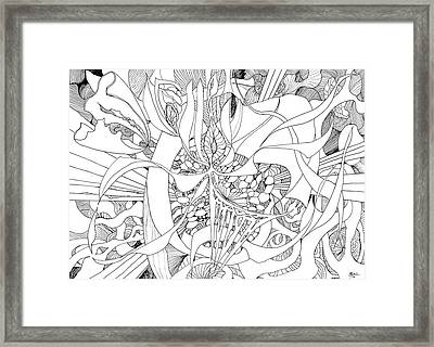 Mindfulness  Framed Print