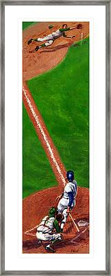 Line Drive Framed Print by Harry West