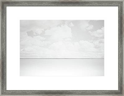 Line Of Sight Framed Print