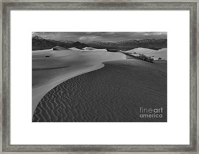 Line To Infinity Framed Print by Adam Jewell