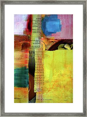 Lineage Collage Framed Print