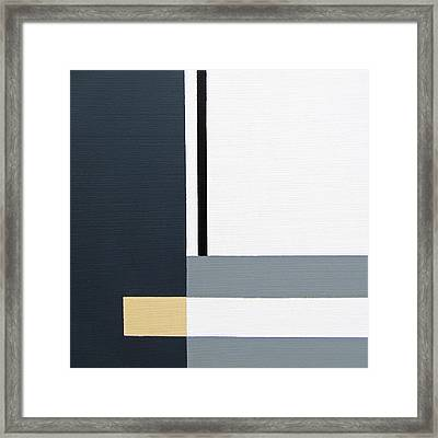 Linear 2 Framed Print by Slade Roberts