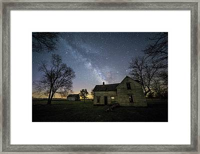 Framed Print featuring the photograph Linear by Aaron J Groen