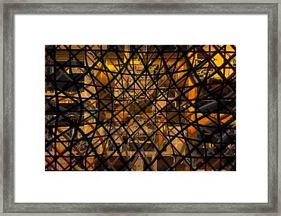 Linear Contingency Framed Print