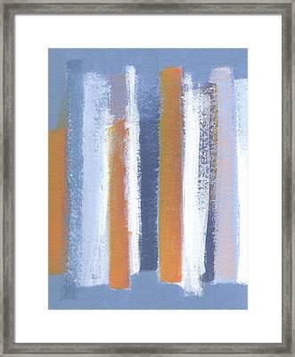Lined 2 Framed Print by Alice Kirkpatrick