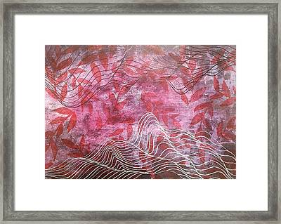 Lines 2 Framed Print by Adam Laughlin