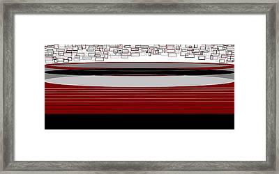 Lines 3 Framed Print