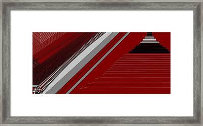 Lines 50 Framed Print