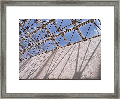 Lines And Shadows IIi Framed Print by Anna Villarreal Garbis